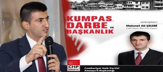 CHP Pm Üyesi Mehmet Ali Celebi