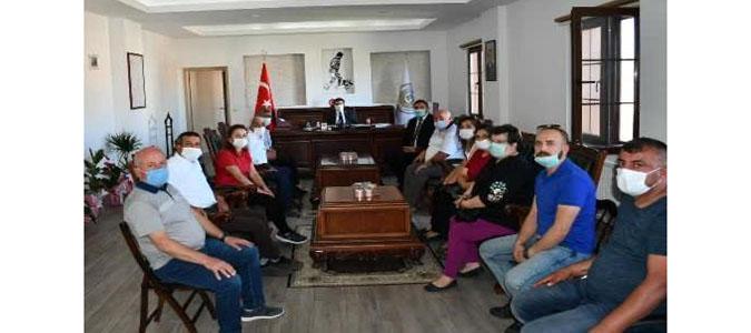 CHP Teşkilatından Kaymakam Fırat'a Ziyaret