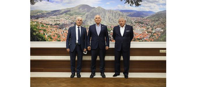 CHP Tokat Milletvekili Durmaz'dan, Başkan Sarı'ya Ziyaret