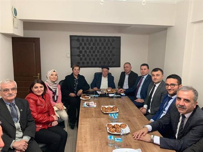 CHP ve İYİ Parti'den Ziraat Odaları Birliğine ziyaret