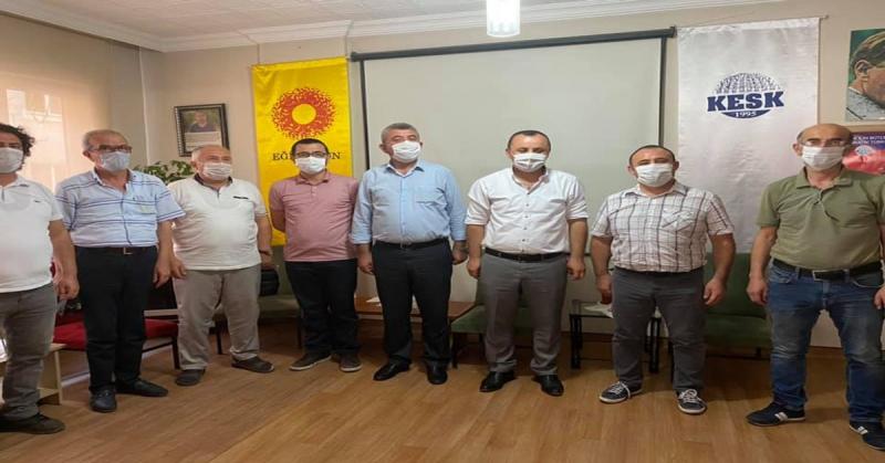 CHP'den Amasya Eğitim-Sen Sendikası'na Ziyaret