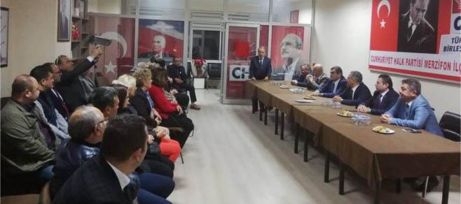 CHP'DEN DEĞERLENDİRME TOPLANTISI
