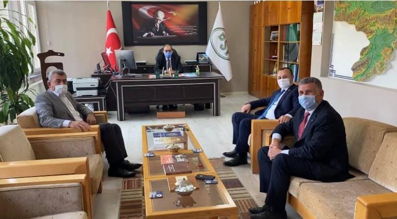 CHP'den Müdür Yorulmaz'a Ziyaret