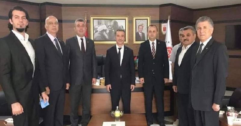 CHP'den Rektör Elmacı'ya Ziyaret