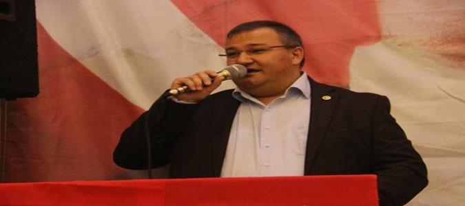CHP'li Tuncer Çiftçinin Sorunlarını Dile Getirdi