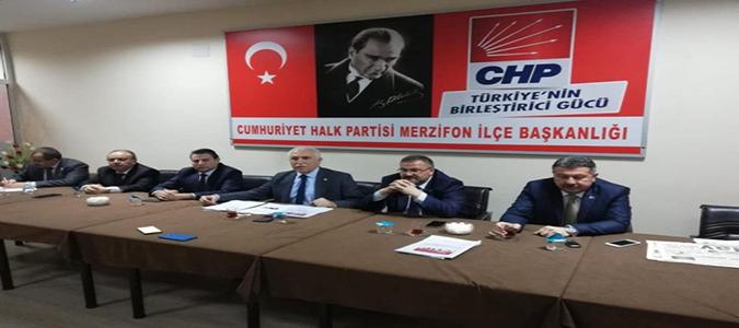 CHP'Li Vekillerden Basın Toplantısı