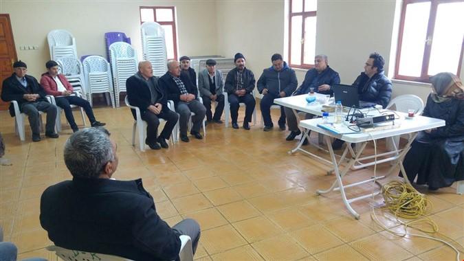Çiftçi Eğitim Toplantısı Düzenlendi
