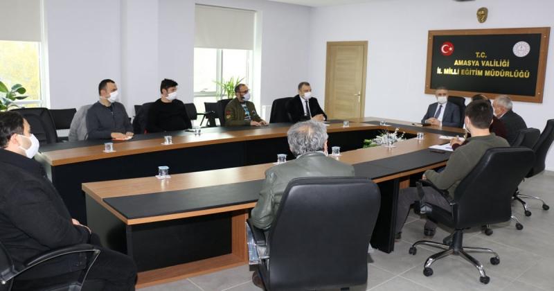 Covid-19 Farkındalık Çalışmaları Hakkında Toplantı Düzenlendi