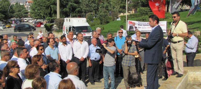 Cumhuriyet Halk Partisi Basın Açıklaması Düzenledi