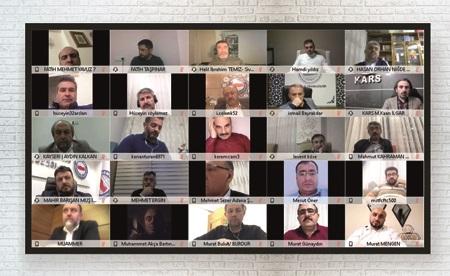 Eğitim-Bir-Sen (Millî Eğitim Şubeleri) Başkanlar Kurulu Toplantısı Video Konferans Yöntemiyle Yapıldı