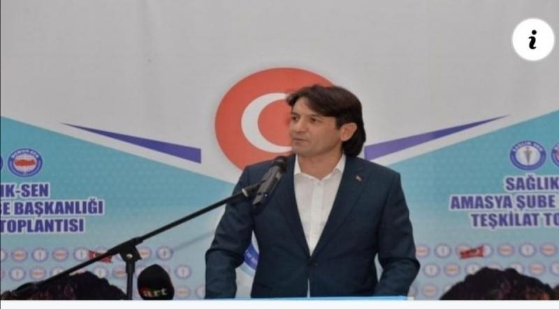 """Eliaçık; """"Sağlık-Sen Murat Alan'ın Sözlerini Yargıya Taşıdı"""""""