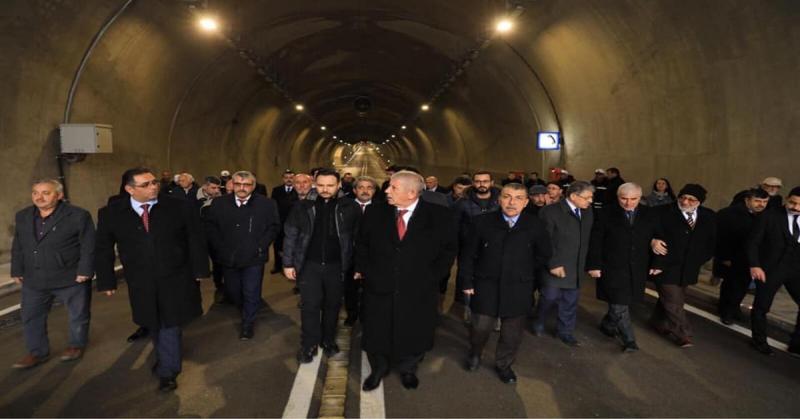 Ferhat Tüneli Trafiğe Açıldı