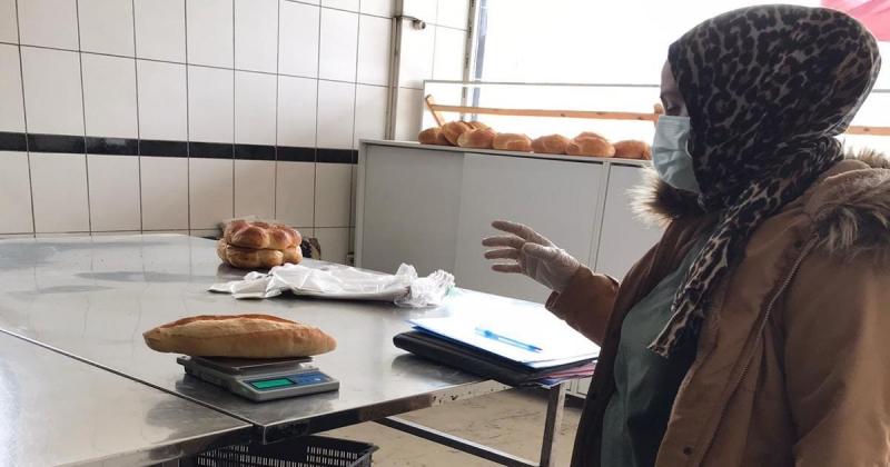 Fırınlarda Ekmek Ağırlık Kontrolü Yapıldı