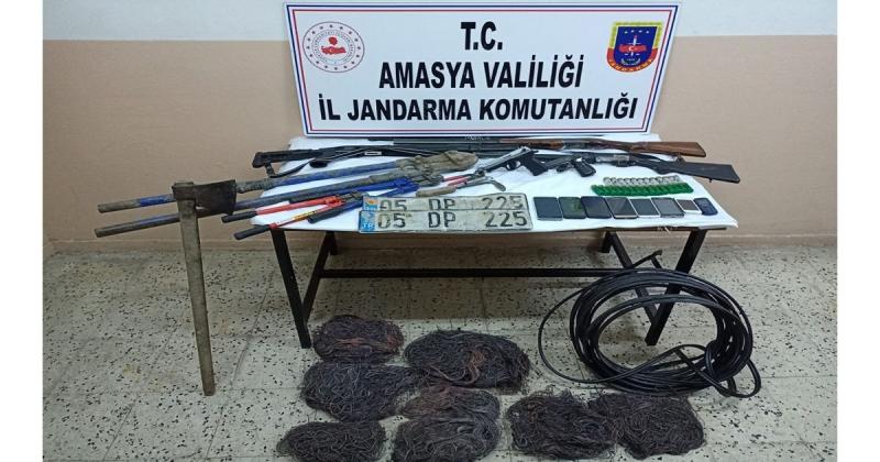FM Enerji ve Nakil Kabloları Hırsızlıkları Yakalandı
