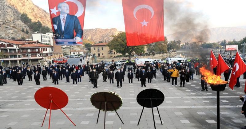Gazi Mustafa Kemal ATATÜRK Vefatının 82. Yılında Amasya'da Anıldı