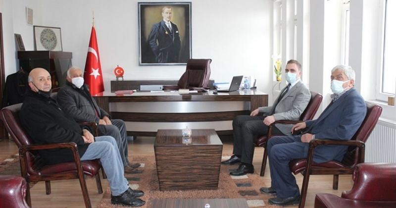 Göynücek CHP İlçe Yönetimi, Kaymakam Battal'ı Ziyaret Etti