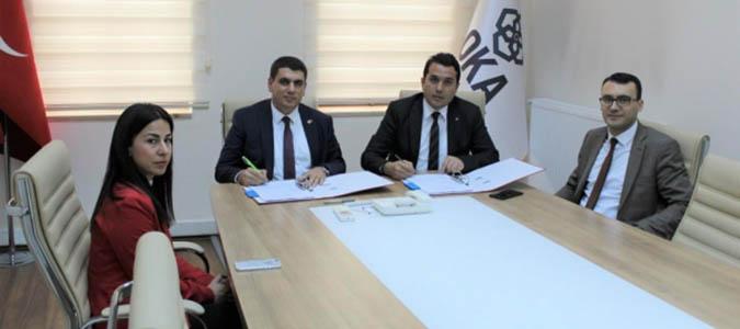 Göynücek Kaymakamlığı ve OKA arasında iş birliği protokolü imzalandı