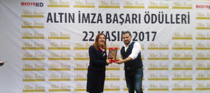 Gümüşhacıköy Belediyesine Medya HD den Ödül