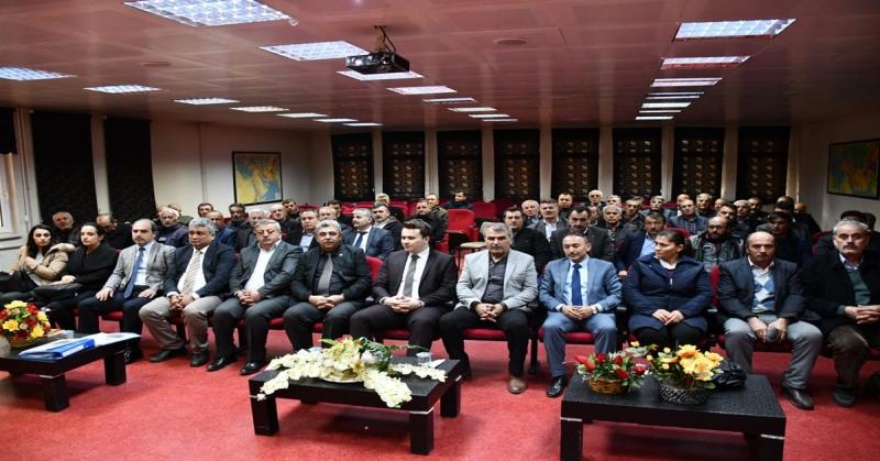'Gümüşhacıköy Çalışıyor Üreticilerimiz Kazanıyor' Projesi Tanıtım Toplantısı Yapıldı