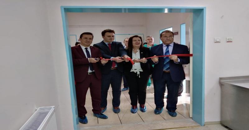 Gümüşhacıköy Devlet Hastanesi'ne Endoskopi Ve Kolonoskopi Cihazı Alındı