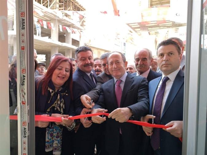 Gümüşhacıköy Seçim Koordinasyon Merkezinin Açılışı Yapıldı
