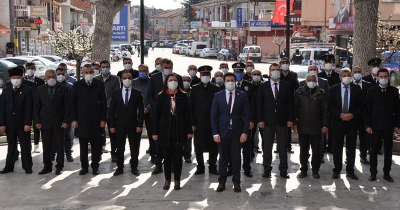 Gümüşhacıköy'de Çanakkale Zaferinin 106. Yılı Kutlandı
