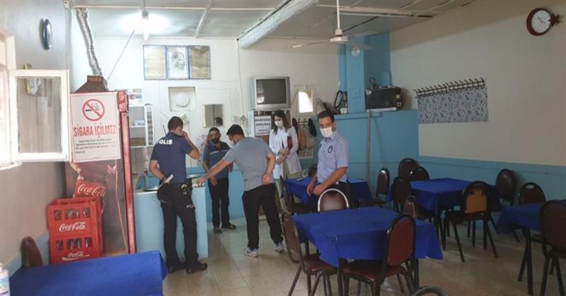 Güşhacıköy'de Kovid-19 Tedbirleri Denetimi Yapıldı