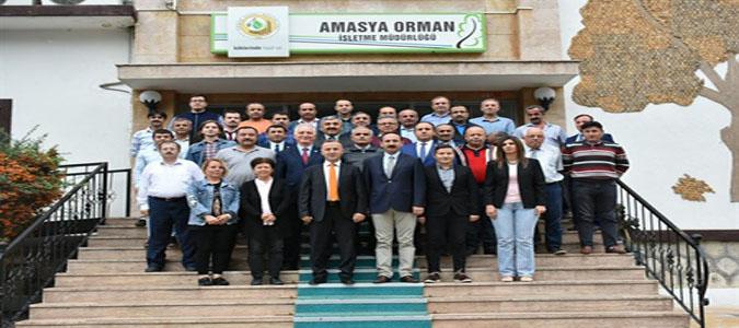 Halil Oflu 'Amasya'da Orman Köylümüze 8 Milyon 455.000 TL Katkı Sağladık'