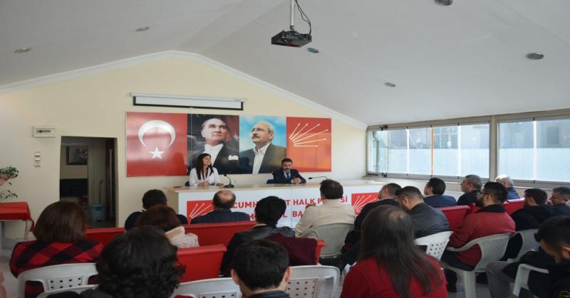 Hayriye Çelebi CHP il Gençlik Kolları Başkanlığına Adaylığını Açıkladı