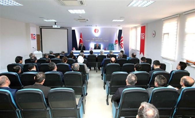 İdare Şube Başkanları Toplantısı gerçekleştirildi