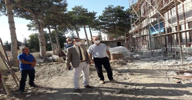İl Müdürü Dr. Nergiz, Sağlık Kompleksinde İncelemelerde Bulundu