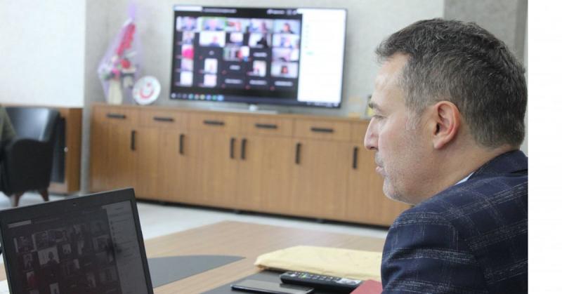 İlçe Milli Eğitim Müdürleri İle Değerlendirme Toplantısı Gerçekleştirildi