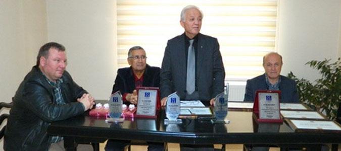 İnşaat Mühendisleri Odası'nın 62. kuruluş yıldönümü kutlandı