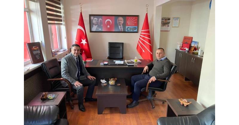 İYİ Parti'den, CHP'ye Ziyaret