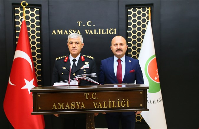 JANDARMA GENEL KOMUTANI ORGENERAL ARİF ÇETİN'DEN ZİYARET