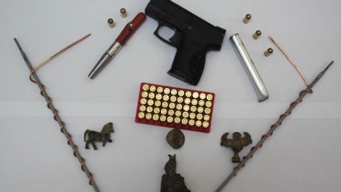 Jandarmanın Durdurduğu Araçtan Kalem Görünümlü Suikast Silahı Çıktı