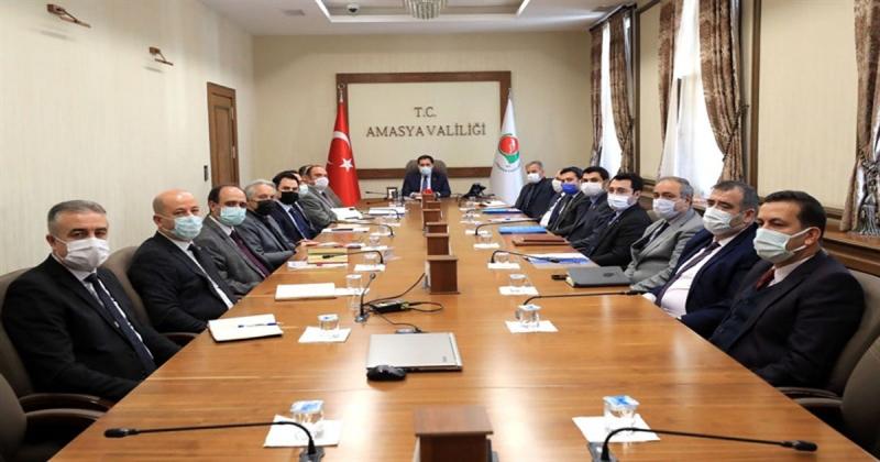 Kamu Hizmetleri ile Kamu Yatırımlarının Değerlendirme Toplantısı Gerçekleştirildi