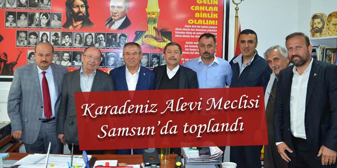 Karadeniz Alevi Meclisi Samsun'da toplandı