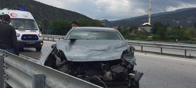 Kargı'da zincirleme kaza: 5 yaralı