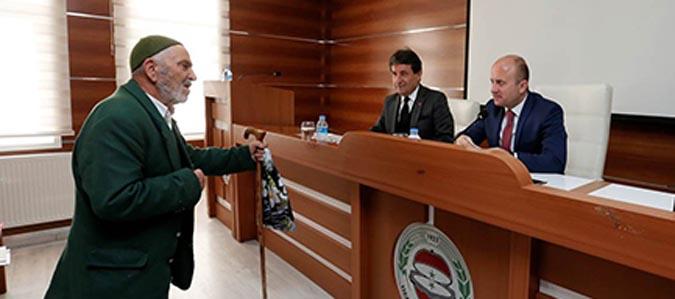 Kasım ayı vatandaşlarla buluşma toplantısı yapıldı