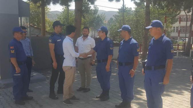 Kaymakam Onur BEKTAŞ, Göynücek'te Kurban Bayramı kutlamalarına katıldı