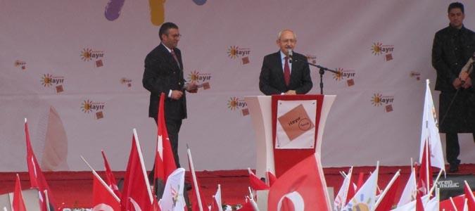Kemal Kılıçdaroğlu HAYIR Demek için Amasya da