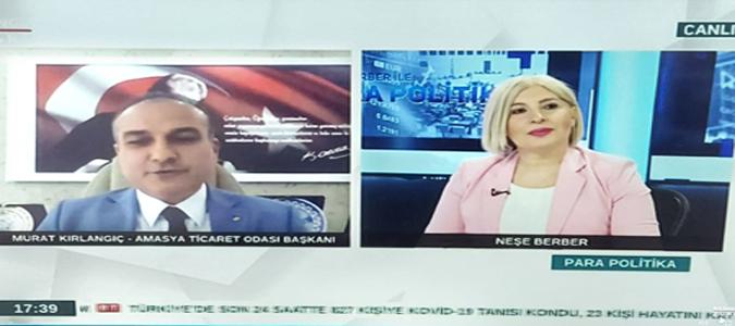 Kırlangıç, Bengütürk Tv'ye Canlı Telefon Bağlantısı ile Katıldı