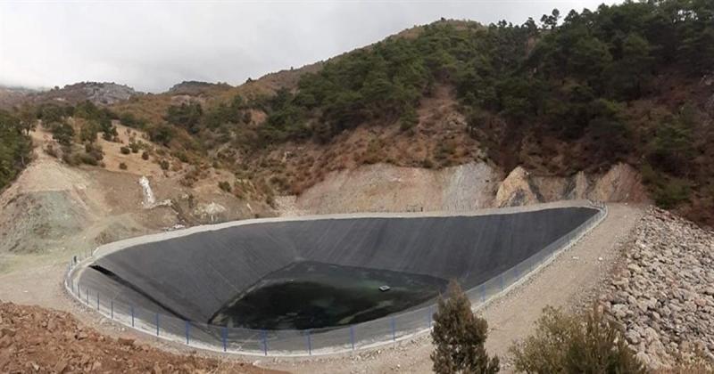 Kızseki Sulama Göleti 50 Hektar Tarım Alanına Can Verecek