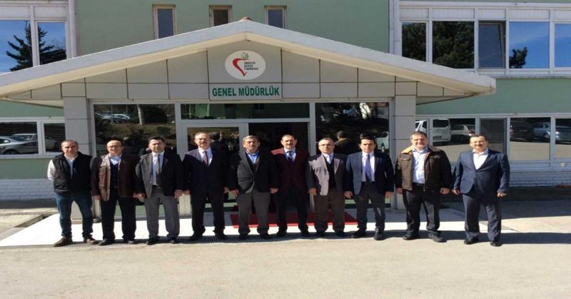 KÜSİ Heyeti, Suluova'da Firmalara Yönelik Bilgilendirme Ziyaretlerinde Bulundu