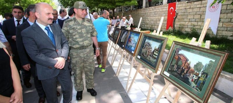 """KYK Kültür Sanat Sokağı"" Resim Sergi Düzenlendi"