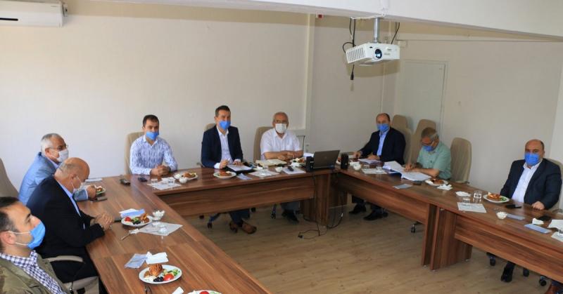Liselere Geçiş Sistemi (LGS) Değerlendirme Toplantısı Düzenlendi