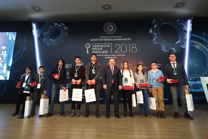 Macit Zeren Fen Lisesi Öğrencileri Türkiye Birincisi Oldu