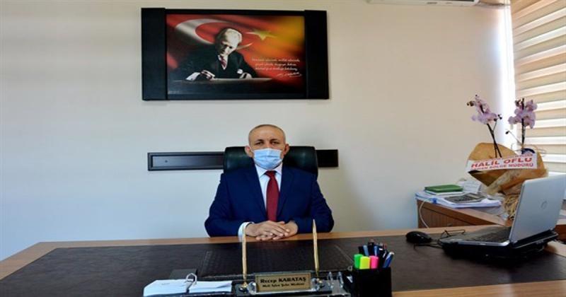 Mali Hizmetler Şube Müdürlüğü Görevine Atanan Recep Karataş Yeni Görevine Başladı