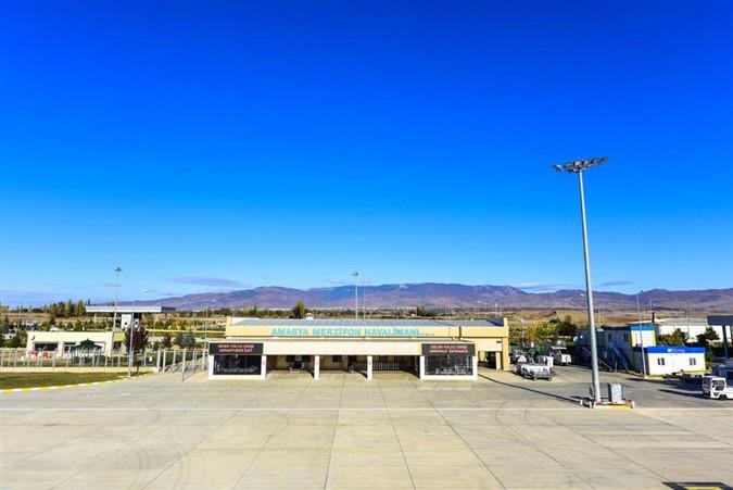 Mart ayında Merzifon Havalimanı'nda 16.126 Yolcuya hizmet Verildi.